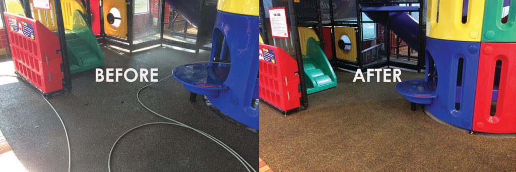 A little cleaning goes a long way! Let us bring your playground back to life.